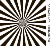 optical illusion  black and... | Shutterstock .eps vector #1044295870
