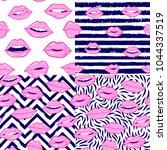 beauty  makeup  cosmetic... | Shutterstock .eps vector #1044337519