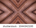 abstract symmetric pattern of... | Shutterstock . vector #1044342100