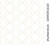 seamless gold line geometric... | Shutterstock .eps vector #1044351610
