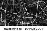 art black white map city | Shutterstock .eps vector #1044352204