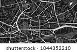 art black white map city | Shutterstock .eps vector #1044352210