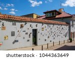 vilnius  lithuania   may 14 ... | Shutterstock . vector #1044363649