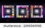 vector frame art graphics for... | Shutterstock .eps vector #1044364540
