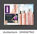 cosmetic magazine design. best... | Shutterstock .eps vector #1044367963