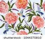 beautiful seamless vector... | Shutterstock .eps vector #1044370810