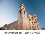 merida cathedral  yucatan  ... | Shutterstock . vector #104437409