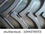 tire for tractor. tread pattern. | Shutterstock . vector #1044378553