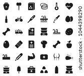flat vector icon set   double... | Shutterstock .eps vector #1044398290