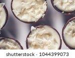 chocolate sweet dessert filling ... | Shutterstock . vector #1044399073