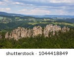 view of suche skaly from mala... | Shutterstock . vector #1044418849