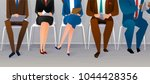 human resources interview... | Shutterstock .eps vector #1044428356