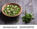 vitamin salad of wild herbs...