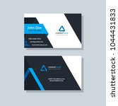 modern business card template... | Shutterstock .eps vector #1044431833