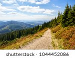 tourist trail in national park... | Shutterstock . vector #1044452086