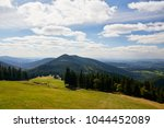 view to the valley in national... | Shutterstock . vector #1044452089
