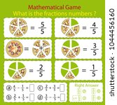 mathematical educational tasks... | Shutterstock .eps vector #1044456160