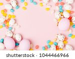 stylish candy frame  background.... | Shutterstock . vector #1044466966
