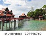 resort bungalows   Shutterstock . vector #104446760
