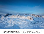 beautiful view in the mountain... | Shutterstock . vector #1044476713
