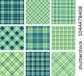 set of seamless tartan patterns   Shutterstock .eps vector #1044478408