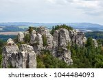 view of the landscape with... | Shutterstock . vector #1044484093