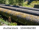 detail of old pipelines in a... | Shutterstock . vector #1044486580