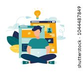 vector creative illustration of ...   Shutterstock .eps vector #1044487849