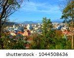 romantic medieval city...   Shutterstock . vector #1044508636