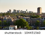 amsterdam south skyline | Shutterstock . vector #104451560