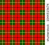 scottish cage  red celtic.... | Shutterstock .eps vector #1044515674