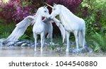 Fantasy Mythical White Unicorn...