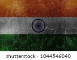 Metallic Indian Flag