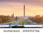 washington dc city view at a... | Shutterstock . vector #1044552766