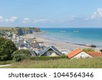 panoramic view over the d day... | Shutterstock . vector #1044564346