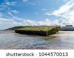 arromanches les bains  normandy ... | Shutterstock . vector #1044570013