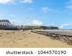 arromanches les bains  normandy ... | Shutterstock . vector #1044570190