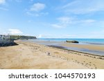 arromanches les bains  normandy ... | Shutterstock . vector #1044570193