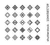 diamond shape   geometric... | Shutterstock .eps vector #1044585739