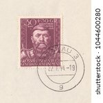 germany   circa 1944 a stamp... | Shutterstock . vector #1044600280