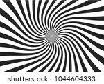 swirling radial pattern stars... | Shutterstock .eps vector #1044604333