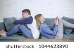 young attractive couple in...   Shutterstock . vector #1044623890