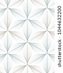 linear vector pattern repeating ... | Shutterstock .eps vector #1044632200