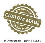 custom made stamp   Shutterstock .eps vector #1044641653