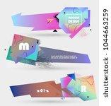 creative geometric promotion... | Shutterstock .eps vector #1044663259