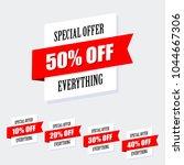 sale banner design  special...   Shutterstock . vector #1044667306