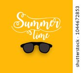editable summer vector...   Shutterstock .eps vector #1044672853
