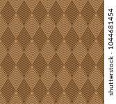 Brown Geometric Pattern...