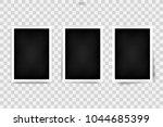 photo frame mockup background... | Shutterstock .eps vector #1044685399