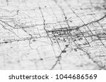 Oklahoma City  Usa Map...